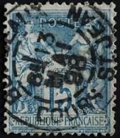 -Sage N°101 Type Ll. O BORDEAUX 13 Mai 1898. - 1876-1898 Sage (Type II)