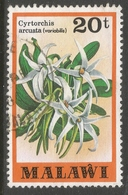 Malawi 1979 Orchids. 20t Used. SG 584 - Malawi (1964-...)