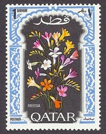 Qatar 1970 Flowers - Plants, Freesia MNH - Qatar
