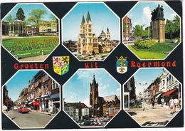 Groeten Uit Roermond: SIMCA 1501, DAF DAFFODIL, FORD TAUNUS 12M P4 - (Limburg, Holland) - Toerisme