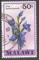 Malawi 1979 Orchids. 50t Used. SG 586 - Malawi (1964-...)