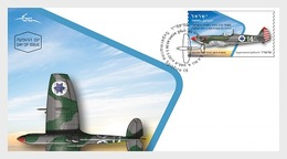 Israël - Postfris / MNH - FDC Gevechtsvliegtuigen 2019 - Israël