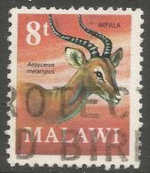 Malawi 1971 Decimal Currency. 8t Used. SG 379 - Malawi (1964-...)