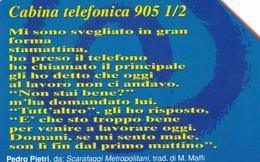 SCHEDA TELEFONICA  VENEZIA POESIA CABINA TELEFONICA    SCADENZA 31/12/1999 USATA - Italy