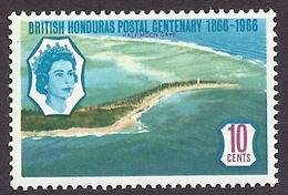 Honduras 1966 - Tourism, Landscapes, Paysages, Half Moon Cave, Beaches, Plages, Coastal View MNH - Honduras