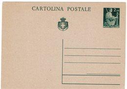 SAPR03 - ITALIE LIEUTENANCE EP CP 2L NEUVE - 5. 1944-46 Lieutenance & Umberto II