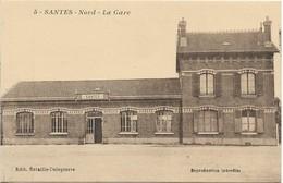SANTES - Nord - La Gare - France