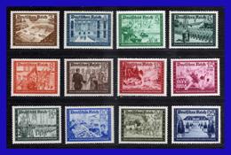 1939 - Alemania - Sc. B 148 - B 159  - MNH - AL- 106 - 01 - Alemania