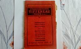 Mouy. Etablissements Tiffeneau Mouy (Oise). Habillements Et Matériel Sapeurs Pompiers. - Livres, BD, Revues