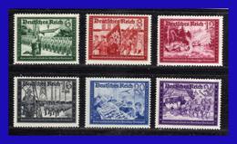 1941 - Alemania - Sc. B 151A - B 158A  - MNH - AL- 106 - 02 - Alemania