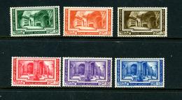 Vatican 1938 Y&T 80/85 (*) Et ** - Vatican