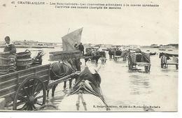 St/        17     Chatelaillon   Les Boucholeurs   Les Charrettes Attendent à La Marée Montante......      (animations) - Châtelaillon-Plage