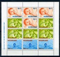 NEDERLAND 875 MNH** Blok 1966 - Kinderzegels, Levensstadia Kinderen - Bloks