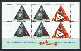 NEDERLAND 1344 MNH** Blok 1985 - Kinderzegels, Kind En Verkeer - Blocs
