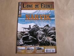 LIGNE DE FRONT N° 22 Guerre 40 45 Narvik Scandinavie 14 è Régiment Infanterie Armée Russe Bagration Ligne Maginot - Guerre 1939-45