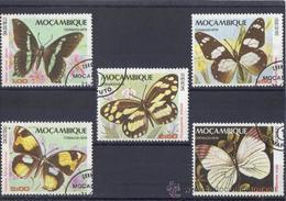 Mozambique 1979  -  Yvert 725 / 29  ( Usados ) - Mozambique