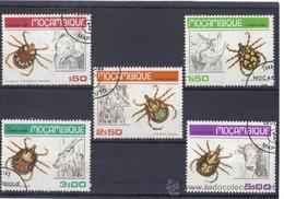 Mozambique 1980  -  Yvert 731 / 35  ( Usados ) - Mozambique