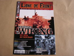 LIGNE DE FRONT N° 35 Guerre 40 45 Waffen SS Wiking Pégasus Bridge Guerre Des Sosies Metz Himmler Hitler Verdun 14 18 - Guerre 1939-45