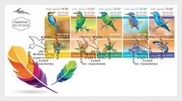 Israel - Postfris / MNH - FDC Vogels 2019 - Israël