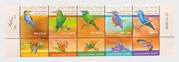 Israel - Postfris / MNH - Complete Set Vogels 2019 - Ongebruikt (met Tabs)