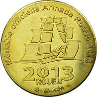 France, Jeton, Rouen - Armada, 2013, Médaille Souvenir, SUP, Cupro-nickel - France