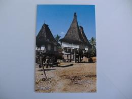Postcard Postal Timor Casa Típica Baucau - East Timor