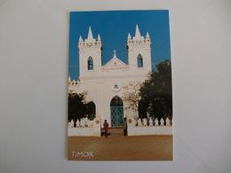 Postcard Postal Timor Igreja Baucau - Timor Oriental