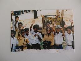 Postcard Postal Timor Crianças De Dili - East Timor