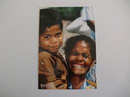 Postcard Postal Timor Mãe Timorense Dili - Timor Oriental