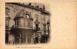 CPA PARIS 10e Theatre De La Porte St. Martin (576803) - Arrondissement: 10