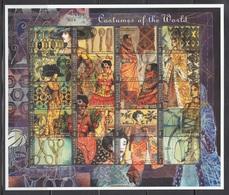 MICRONESIA 1999 - LA MODA EN EL MUNDO - YVERT Nº 739/758** - MINI HOJA DE 20 SELLOS - Textile
