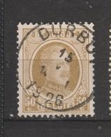 COB 203 Oblitération Centrale DURBUY Dispersion D'un Ensemble Houyoux Oblitération Concours - 1922-1927 Houyoux