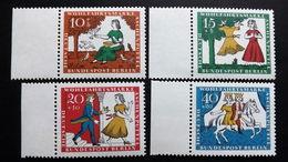 """Deutschland Berlin 266/9 **/mnh, Wohlfahrt 1965: Szenen Aus Dem Märchen """"Aschenputtel"""" - Unused Stamps"""