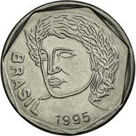 Monnaie, Brésil, 25 Centavos, 1995, SUP, Stainless Steel, KM:634 - Brésil