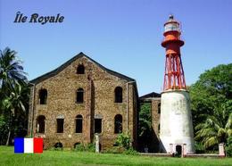 AK Französisch-Guayana Leuchturm French Guiana Lighthouse Ile Royale Guyane New Postcard - Vuurtorens