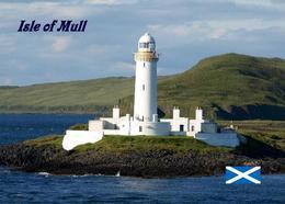AK Schottland Leuchturm Scotland Isle Of Mull Lighthouse New Postcard - Vuurtorens