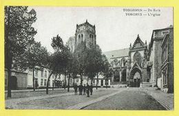 * Tongeren - Tongres (Limburg) * De Kerk, église, Church, Kirche, Animée, Rare, Old, CPA, Unique - Tongeren