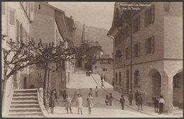 Rue Du Temple, Montreux-Les Planches, Vaud, C.1920 - Perrochet-Matile Photo CPA - VD Vaud