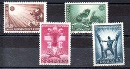 Serie De Ocupación  Alemania Nº Michel 58/61 (o) - Occupation 1938-45