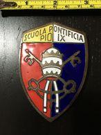 1859 SCUOLA PONTIFICIA PIO IX - METALLO GR. 180 - FAVOLOSO!! PERIODO BORBONICO - Oggetti 'Ricordo Di'