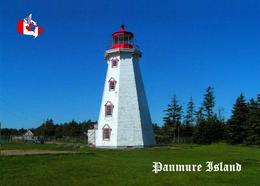 AK Kanada Leuchturm Canada Panmure Island Lighthouse New Postcard - Vuurtorens