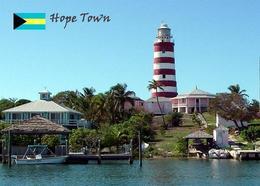 AK Leuchturm Bahamas Hope Town Lighthouse New Postcard - Vuurtorens