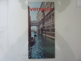 """Pieghevole """"VENEZIA Azienda Autonoma Di Turismo E Soggiorno"""" 1967 - Dépliants Touristiques"""