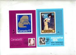 4 Carte Cachet Expo Stockholm - Autres