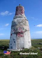 AK Leuchturm Howland Island Earhart Light Lighthouse New Postcard - Vuurtorens