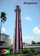 AK Leuchturm Guyana Georgetown Lighthouse New Postcard - Vuurtorens