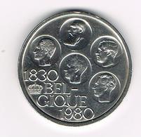 BOUDEWIJN  500 FRANK  150 JAAR  ONAFHANKELIJKHEID  1980 FR - 1951-1993: Baudouin I