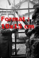 Reproduction D'une Photographie Ancienne De Michel Simon Donnant à Manger à Un De Ses Singes - Reproductions