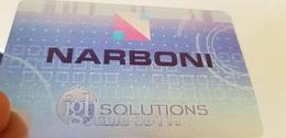 Carte Holographique Double Image Narboni Solutions Salon De Villepinte 2007 - France