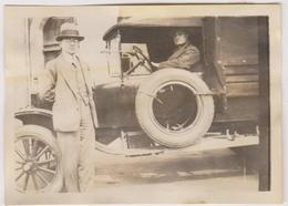 Photo 14 Caen  Vers 1923 Transport Vehicule - Photos